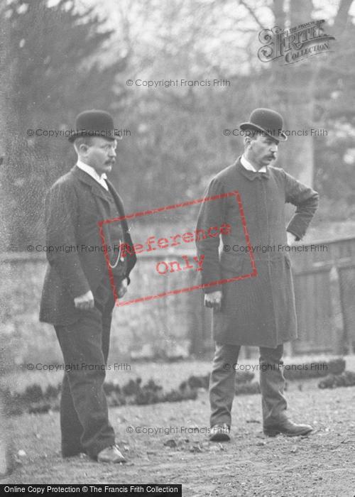 Photo of Portraiture, Bowler Hatted Gentlemen c.1890