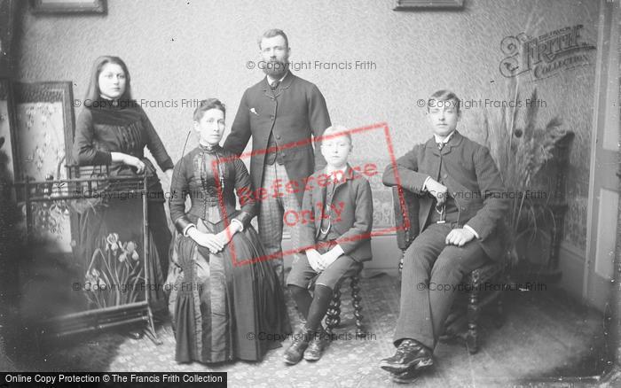 Photo of Portraiture, Culliford Family, Stone Farm, Ash Martock c.1895