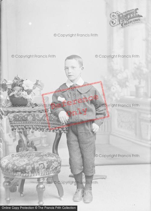 Photo of Portraiture, Master Ackerman, 63 Park Road Yeovil 1896