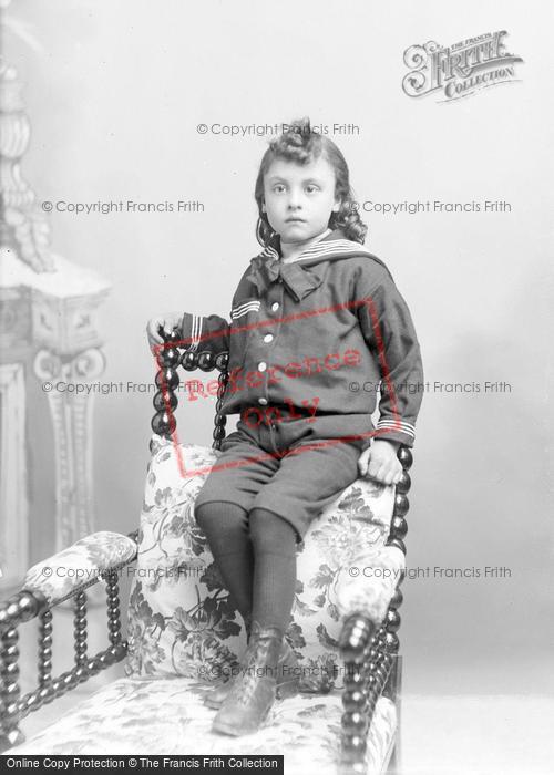 Photo of Portraiture, Master Ansell, Martock 1895
