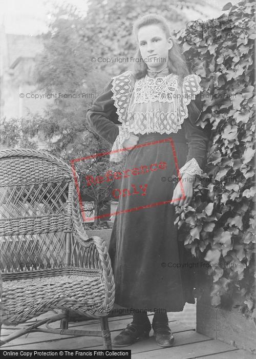 Photo of Portraiture, Miss Ackerman, 63 Park Street Yeovil 1896