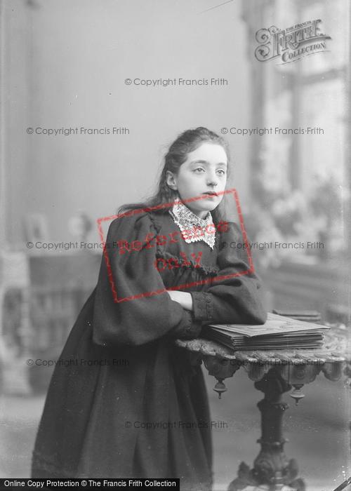 Photo of Portraiture, Miss Adams 1895