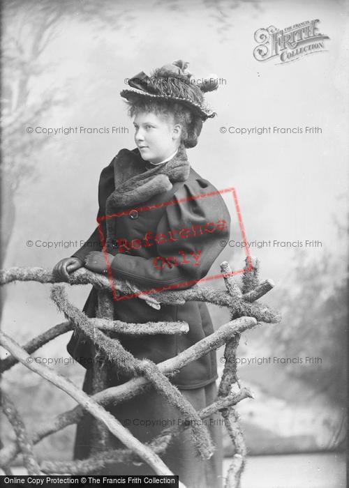 Photo of Portraiture, Miss Ashford, Castle Street Salisbury 1895