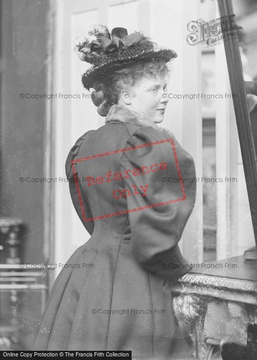 Photo of Portraiture, Miss Ashford, Salisbury 1895