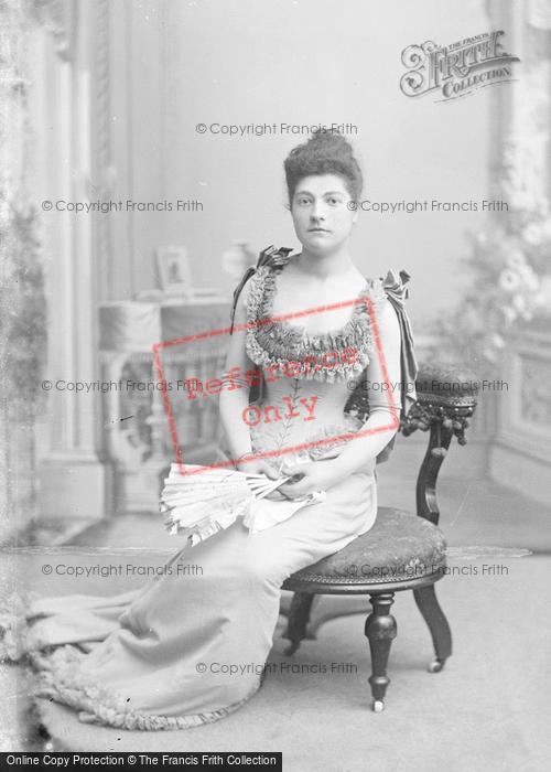 Photo of Portraiture, Miss Beckett 1892