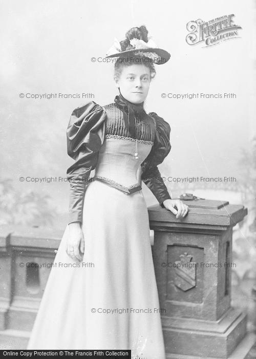 Photo of Portraiture, Miss Broofin 1893