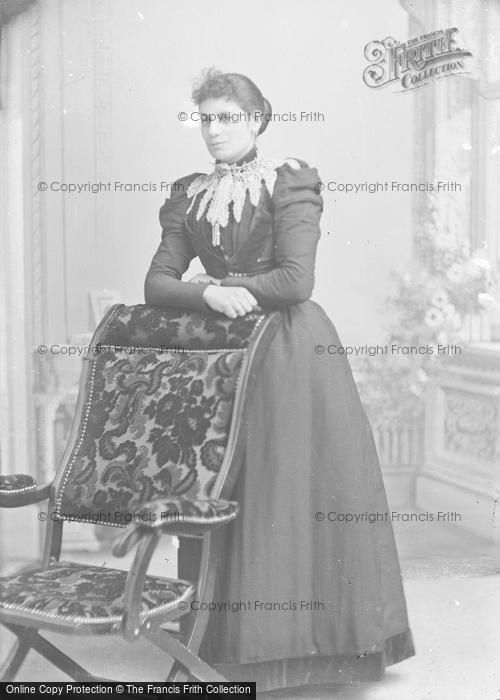 Photo of Portraiture, Miss Bullock, Jersey 1895