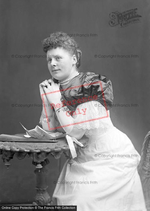 Photo of Portraiture, Miss Collins, Merriott 1894