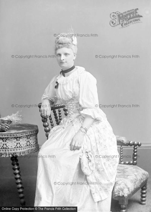 Photo of Portraiture, Miss Colmer, South Street Yeovil 1889