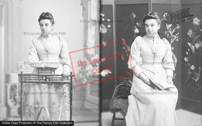 Photo of Portraiture, Miss Cook, East Coker c.1895