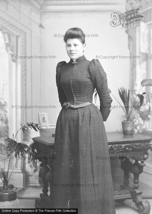 Photo of Portraiture, Miss Coomb, Brympton 1892