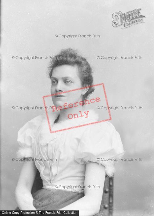 Photo of Portraiture, Miss Cowle 1894