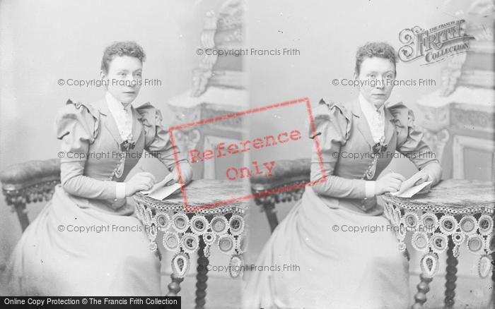 Photo of Portraiture, Miss Cross 1894