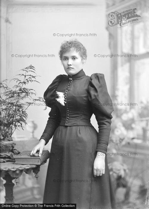 Photo of Portraiture, Miss Dibsdale, Yeovil 1893