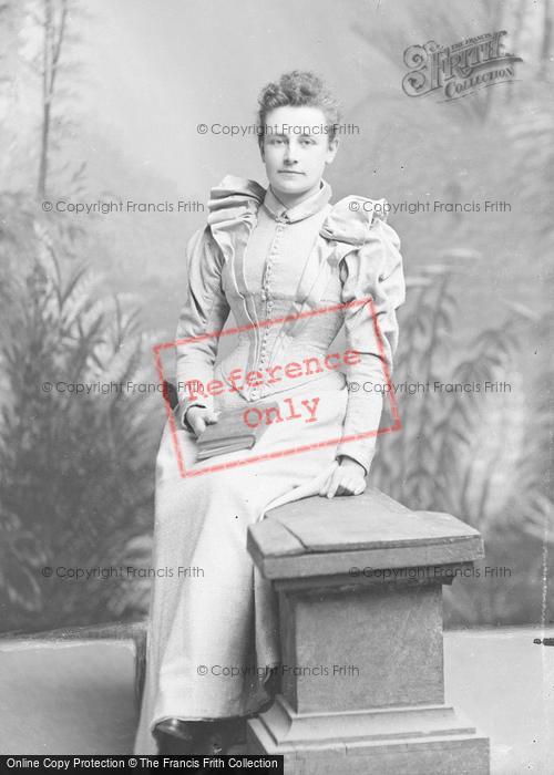 Photo of Portraiture, Miss Faulkner 1893