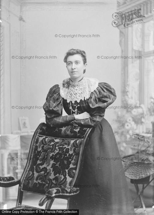 Photo of Portraiture, Miss Franch, West Lydford 1896