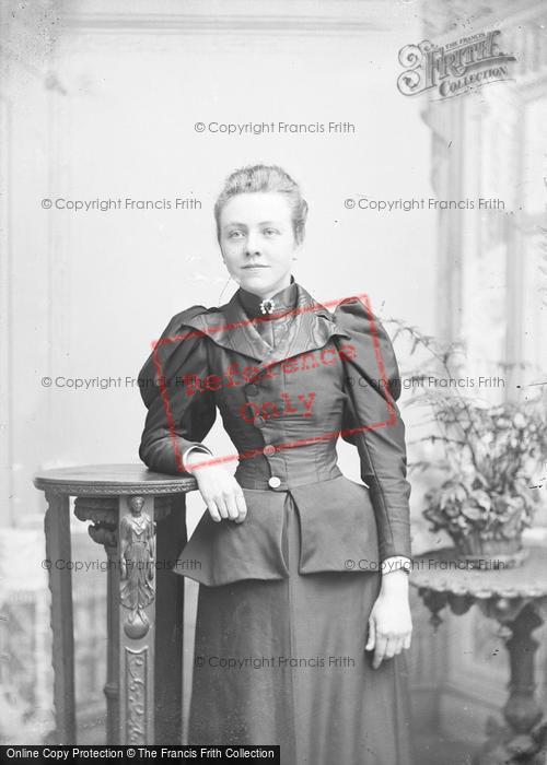 Photo of Portraiture, Miss Gabriel 1894