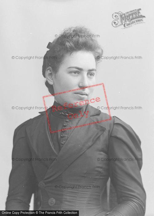 Photo of Portraiture, Miss Gale, Martock 1895