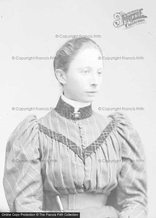 Photo of Portraiture, Miss Hedegar 1894