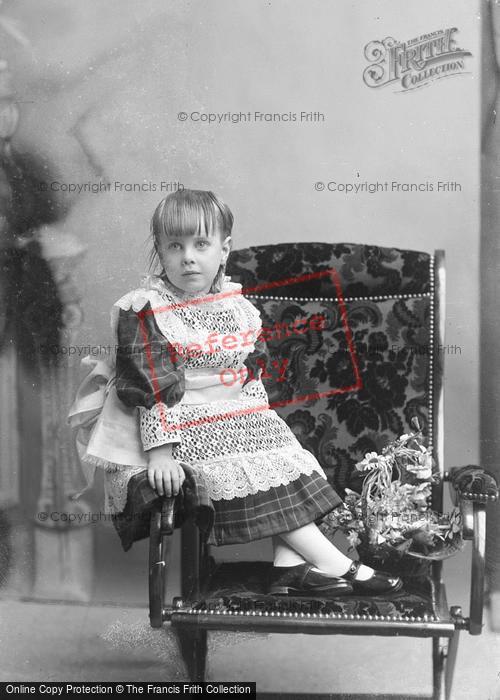 Photo of Portraiture, Miss Hunt, Corscombe 1895