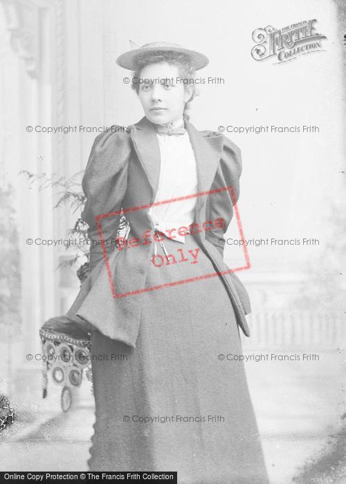 Photo of Portraiture, Miss Jones 1894