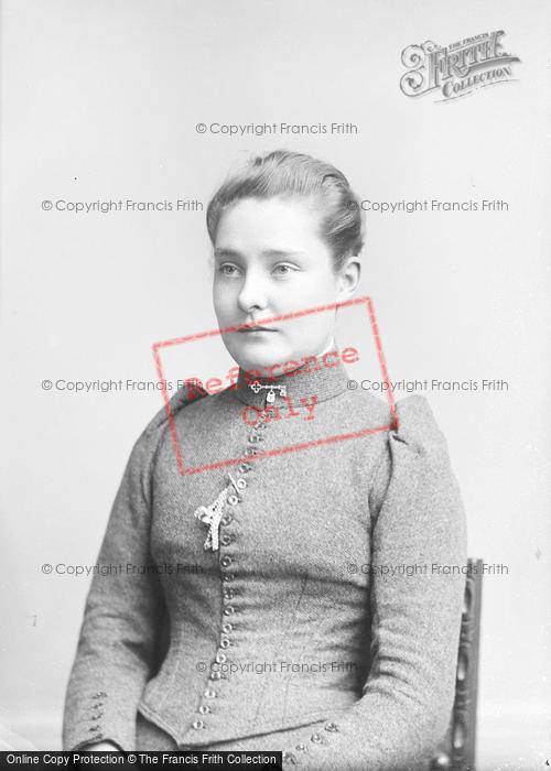 Photo of Portraiture, Miss Moore, West Coker 1893