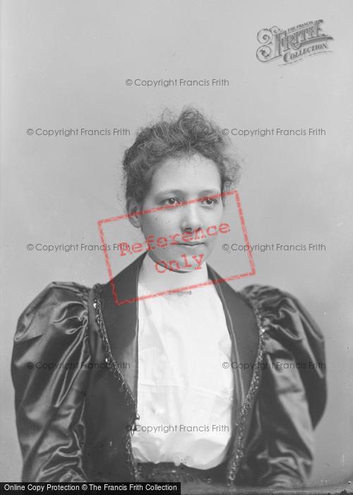 Photo of Portraiture, Miss Tucker 1894
