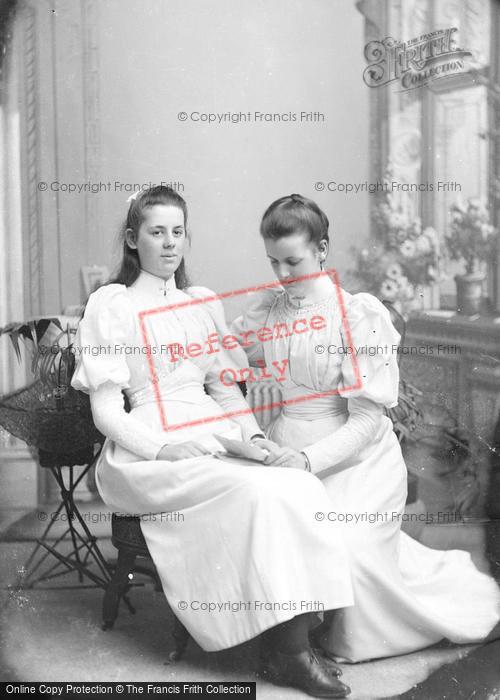 Photo of Portraiture, Misses Bandfield 1893