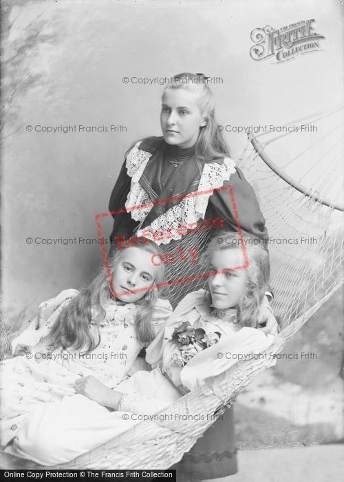 Photo of Portraiture, Misses Burnell, Summerlands Yeovil 1895