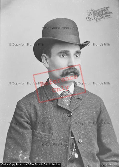 Photo of Portraiture, Mr Adams 1886