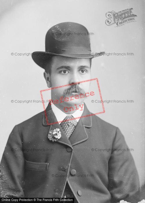 Photo of Portraiture, Mr Adams, Huish, Yeovil 1886