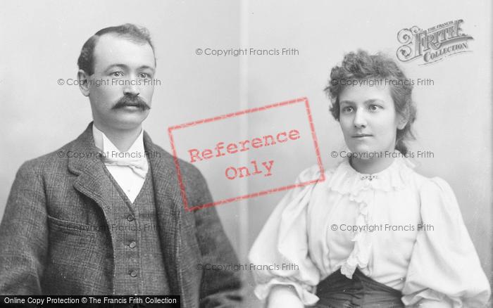 Photo of Portraiture, Mr And Miss Dennilad 1894