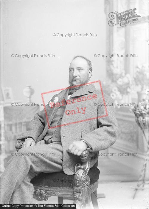Photo of Portraiture, Mr Biddlecombe 1895