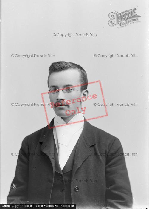 Photo of Portraiture, Mr Brown, Worchestshire Bank Maiden Newton 1895
