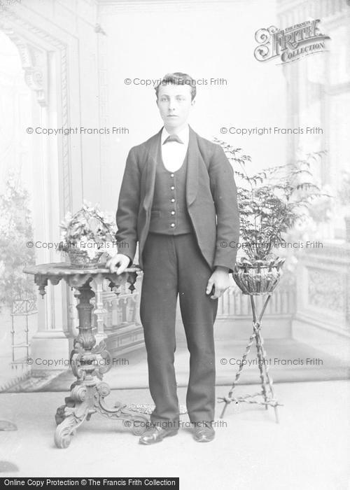 Photo of Portraiture, Mr Dulbins, Kingston School 1895