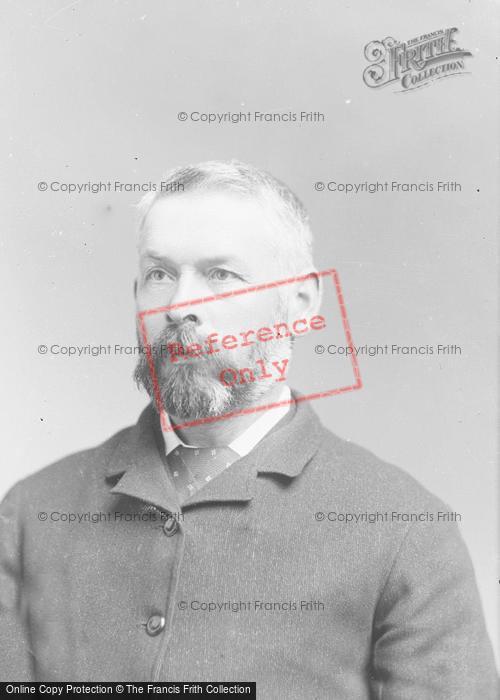 Photo of Portraiture, Mr Edwards 1890