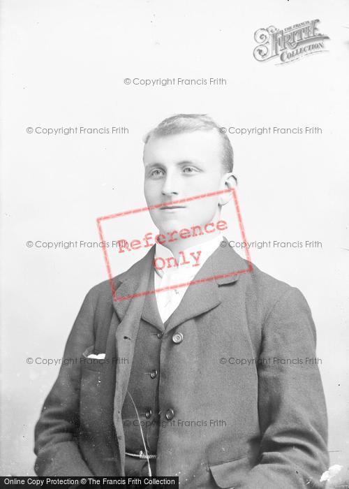 Photo of Portraiture, Mr Fox, Kent 1892