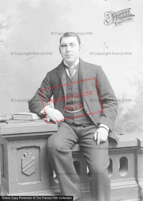 Photo of Portraiture, Mr Hares, Coker Court 1895
