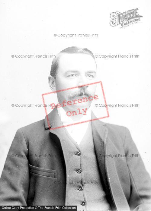 Photo of Portraiture, Mr Hutchins 1894