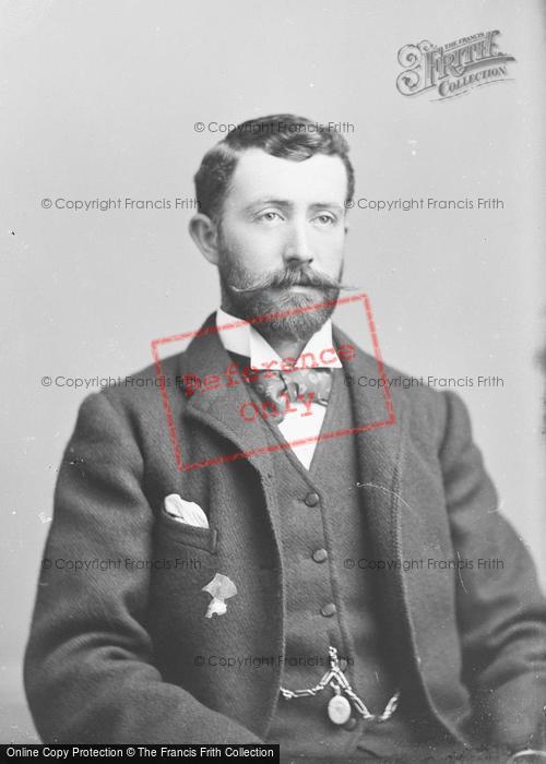 Photo of Portraiture, Mr J Brooks 1893