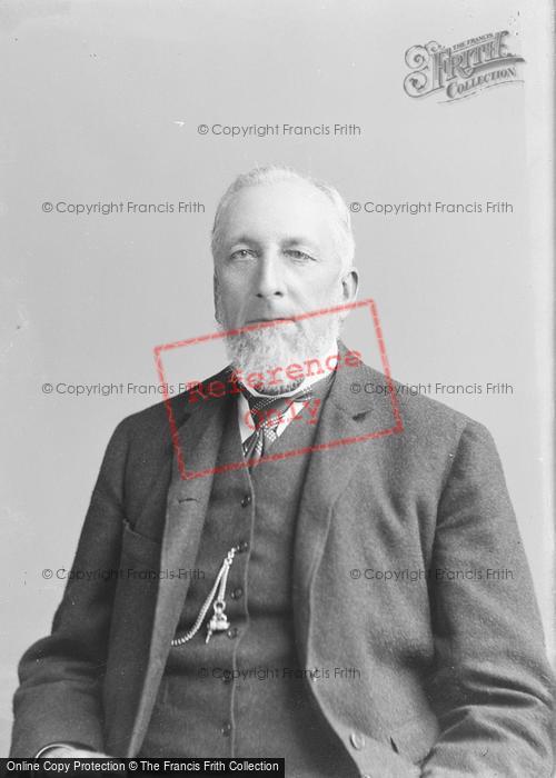 Photo of Portraiture, Mr John Feaver, West Camel 1896