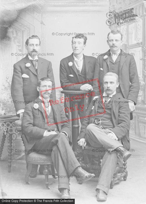 Photo of Portraiture, Mr Jones And A Group Of Gentlemen 1894