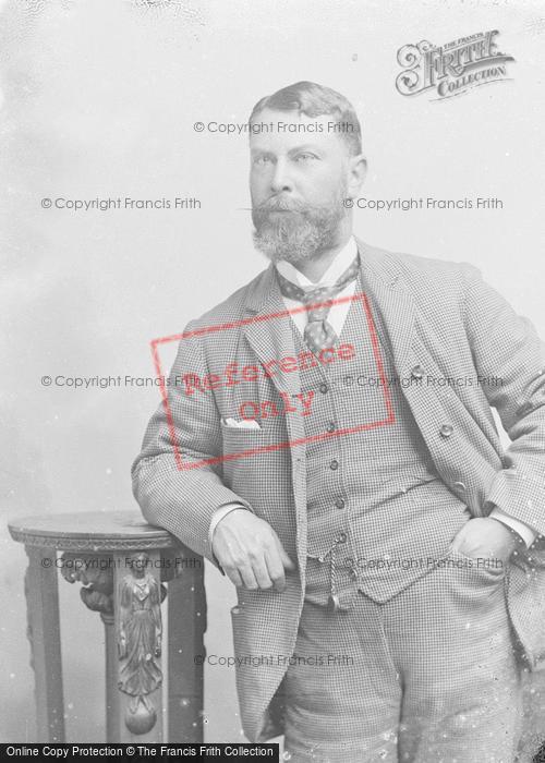 Photo of Portraiture, Mr Jotham c.1890