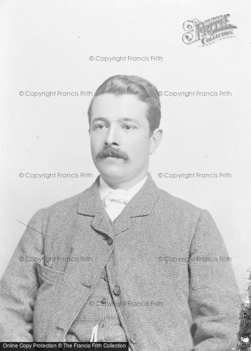 Photo of Portraiture, Mr Millard, East Lambrook 1889