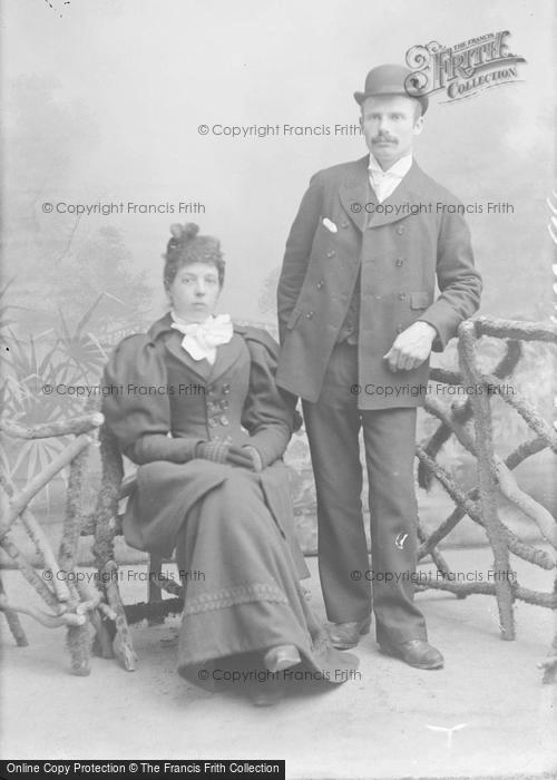 Photo of Portraiture, Mr & Mrs Coombs 1894