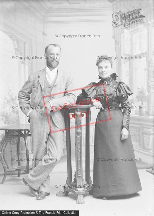 Photo of Portraiture, Mr & Mrs Hall, Leigh Near Sherborne 1896