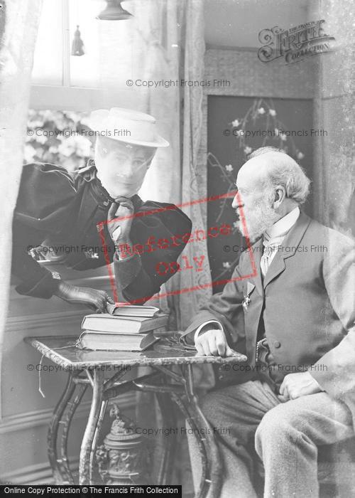 Photo of Portraiture, Mr & Mrs Lamb, Sherborne Road Yeovil 1895