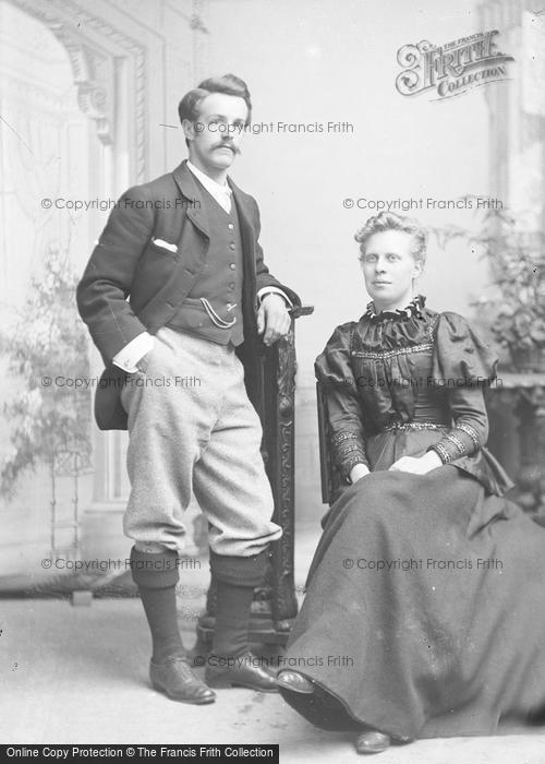 Photo of Portraiture, Mr & Mrs Lundell, Crewkerne 1894