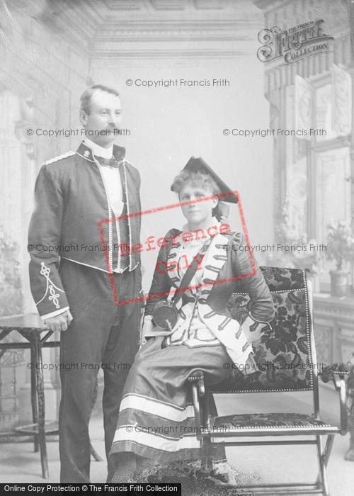 Photo of Portraiture, Mr & Mrs Owen, Norton, South Wales 1896