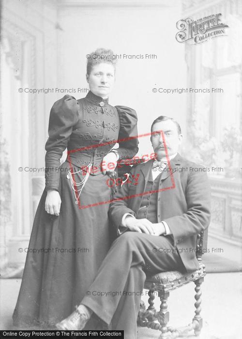 Photo of Portraiture, Mr & Mrs Raymond 1897